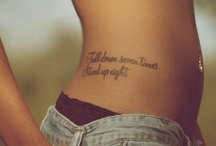 tattoos! / by Chelsea Lahr