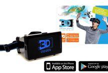 3D Virtual  reality bril.