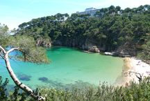 Best beaches, Costa Brava / The Costa Brava is known for its magical beaches. Here we are going to show you only the best and most beautiful beaches!