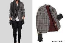Spazio Pianese Showroom  / FUTURO #jacket f/w 13-14 details #mode #modauomo #fashion