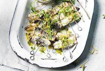 Cuisine: poissons et crustacés