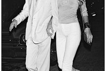 Icône Mike Jagger et Jerry Hall