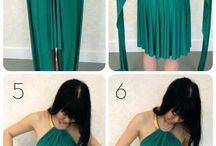 Colocar vestidos