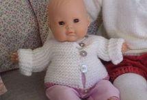 tricoter poupée