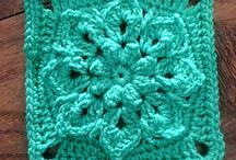crochet granny squares etc