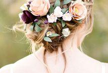 Свадебные прически / Различные варианты причесок для невест