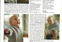 Gilet bébé tricot