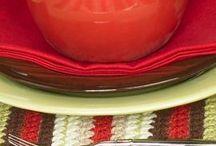 crochet hot pad / place mat
