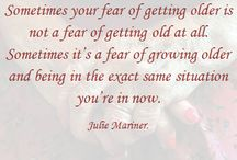 Julie Mariner's blogs and quotes. / by Julie Mariner