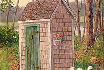 Outhouses / by Sandy Conley