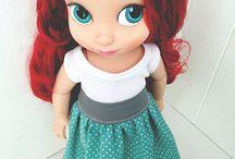 Poupées animator Disney animators doll & Strawberry shortcake vintage & reroot