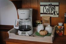 coffee center ideas