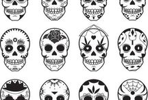 Mexican Skull Design Tattoo
