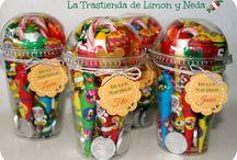 decoraciones con dulces