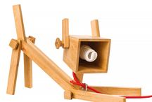 Table floor lamp dog wood Настольная лампа собака Хюгге / Table lamp — Chappi  Настольная лампа — Chappi
