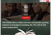 THE VISION IAS Best IAS Coaching Institute in Chandigarh / THE VISION IAS coaching center in Chandigarh has got a glorious work history of about eight years consistently emphasized on producing quality candidate to fit into services.
