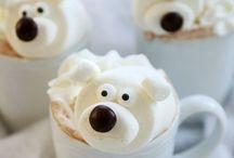 Warme chocolade / IJsbeer