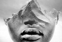 Mensen smelten samen met landschappen in deze dromerige collages van ANTONIO MORA
