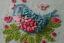 SEWING: With Needle in Hand / Full of free tutorials and projects covering everything needlework, including embroidery, cross stitch, crochet, knit and more!