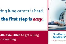Lung Cancer Screenings / Getting screened is the best way to combat lung cancer. Schedule your screening today by calling 740-356-LUNG. / by Southern Ohio Medical Center