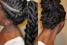 Hair / black hair, natural hair, updos