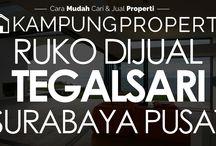 Ruko Dijual / Disewakan di Surabaya Pusat