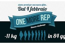 One More Rep Fitness Challenge / www.paolosesana.com