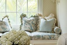 Window Treatments / Looking for that one-of-a-kind Window Treatment that your neighbors don't have?  Are you wishing for a unique gorgeous-beyond-words look for your home?  Call Lucinda's Interiors today.  Our professionals will come to your house, help you coordinate everything for that Special Treatment in your home or office.  We even Measure and Install all of your Custom Window Treatments so that they fit and operate perfectly.   / by Lucinda Reed - Lucinda's Interiors