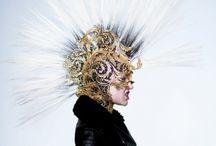"""Enfant Terrible"" Masks / Jean Paul Gaultier Masks"