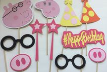 Ellie's peppa pig party....