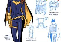 DC Bat staff