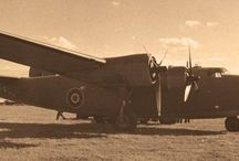 One of the Churchill's plane,named Commando, during the Worl War II, to flight