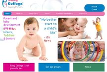 Baby College / The mission of Baby College is to allow every child the opportunity to fulfil their learning potential through the support and understanding of their parents from the moment of conception