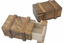 maritime Holzboxen / Maritime Holzboxen mit Messing verziert als Schatztruhe,Utensilientruhe oder Teebox