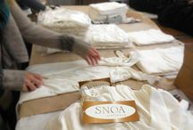 Behind the Scenes at SNOA Sleepwear / by SNOA Sleepwear