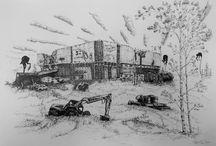 My works / Drawings