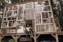 Fachadas e janelas