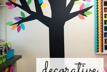 Classroom Decoration / Ideas on how to decorate your classroom.