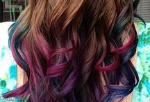 couleurs de cheveux !
