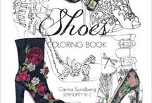 Shoes Coloring Books