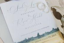 East Coast Wedding Invitations / Creative Destiny Designed wedding invitations inspired by the east coast of canada. www.creativedestiny.ca