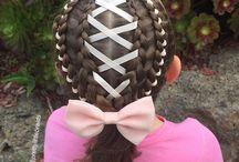 прическа (hairstyle)