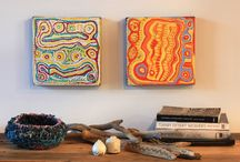 Australian Indigenous Art - Art & life of remote Australia / Sourced and sold ethically, Art Ark brings you beautiful works of art which support social and economic enterprise.