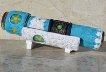 Kaleidoscopes / Inspirations..... I just got into making polymer clay scopes.  Posting some of my absolute jaw dropping favorites here. Some of these sell for many thousands of dollars.