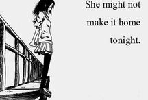 Sad Girl Drawing Depression Life
