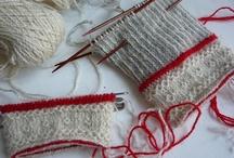 Twined knitting
