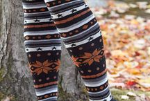 Socks, Legging, and Leg Warmers.  Oh, My! / My obsession with covering my legs