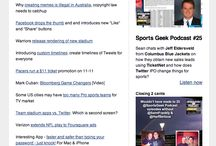 Sports Geek News  / Archive of the Sports Geek News email - weekly dose of all the #sportsbiz and #smsports articles we read and like at Sports Geek - http://sportsgeekhq.com/signupnow