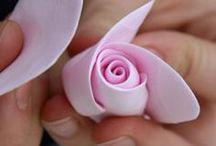 цветы фоамиран