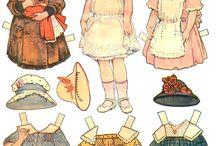 Vintage paper dolls / by Lizabeth Larson